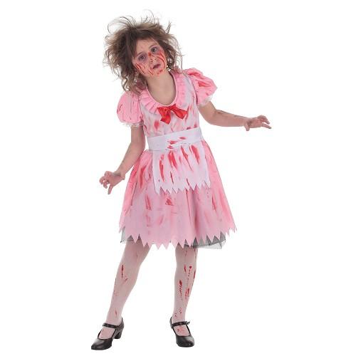 Fille enfant costume Zombie