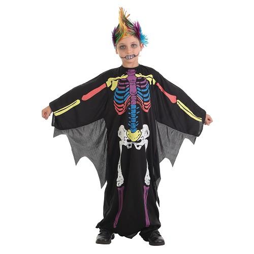Costumes pour enfants Skeleto couleur