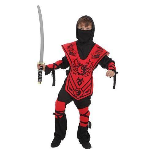 Costume enfant samouraï Yin-Yan