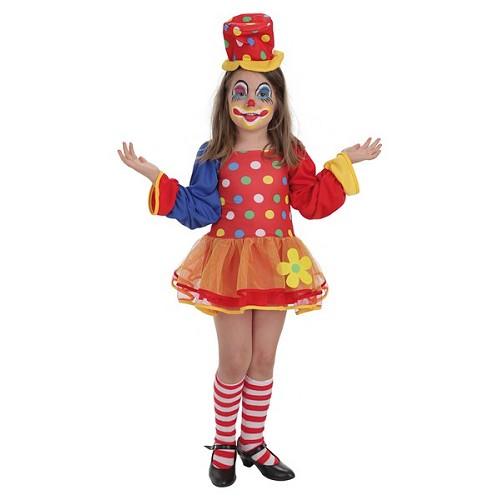 Costume de clown enfant Pepona