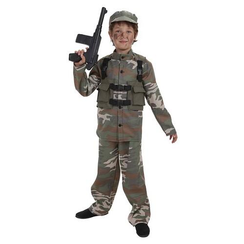 Costume enfant forces spécial