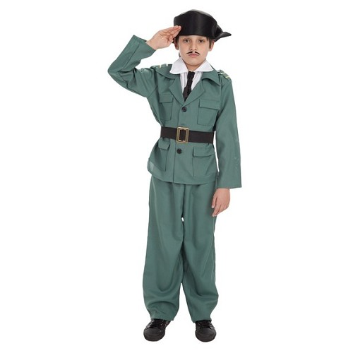 Costume d'enfant garde civile