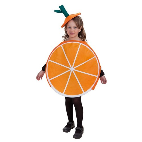 Enfant costume Orange