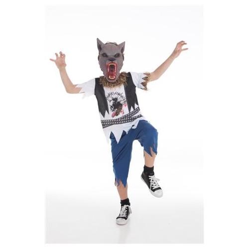 Costume homme enfant loup