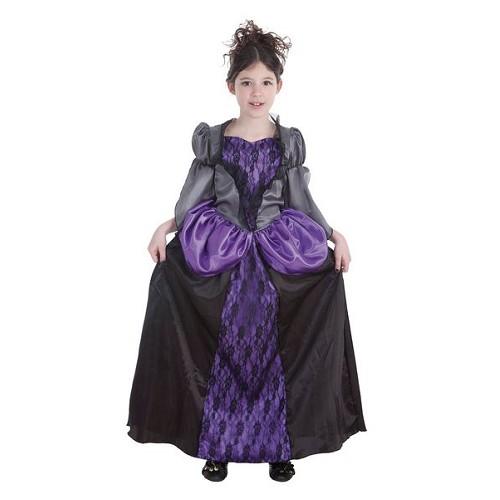 Vampira mauve enfant costume