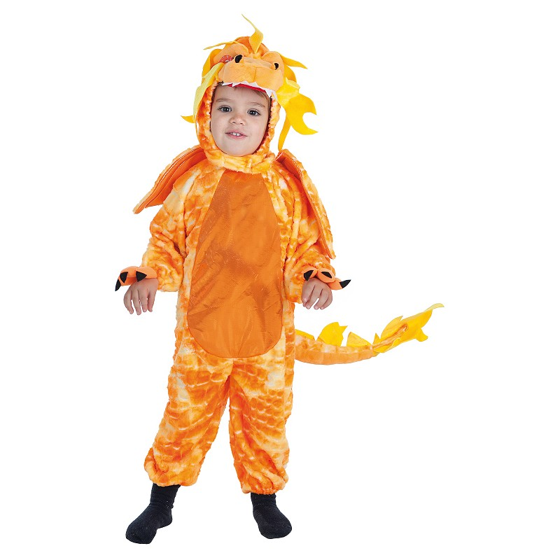 Costume d'Inf. Lux de Dragon chinois (3-4 ans)