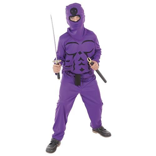 Costume enfant Lilas Ninja