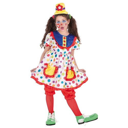 Costume d'Inf. Tina de clown