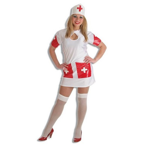 Costume adulte infirmière Md