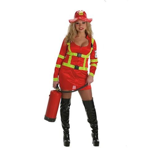 Costume adulte pompier