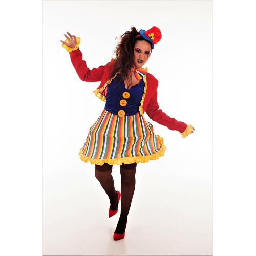 Costume adulte de clown Lola