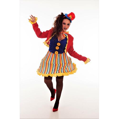 Costume adulte de clown Lola