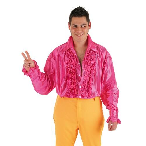 Chemise de costume danse Fuscia