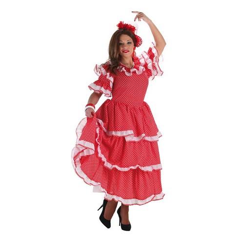 Costume adulte femme rosée de Séville