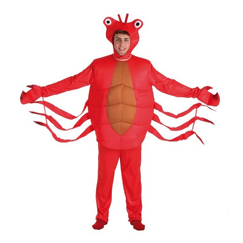 Costume adulte crabe rouge