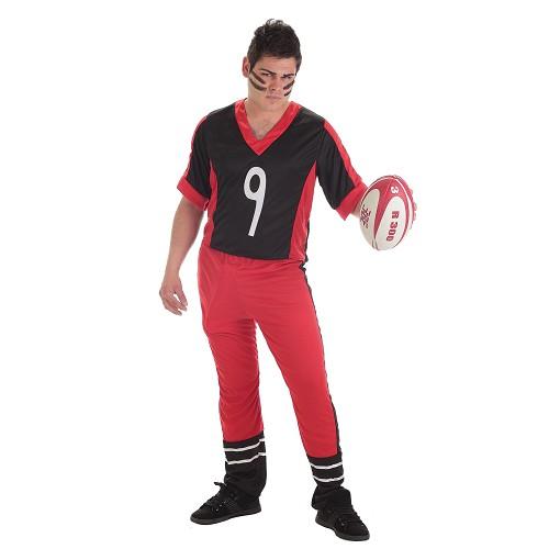 Costume adulte de rugby joueur