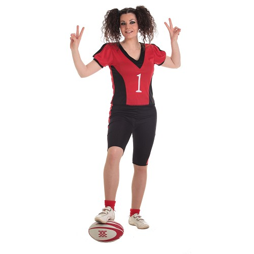 Joueur adulte costume de Rugby