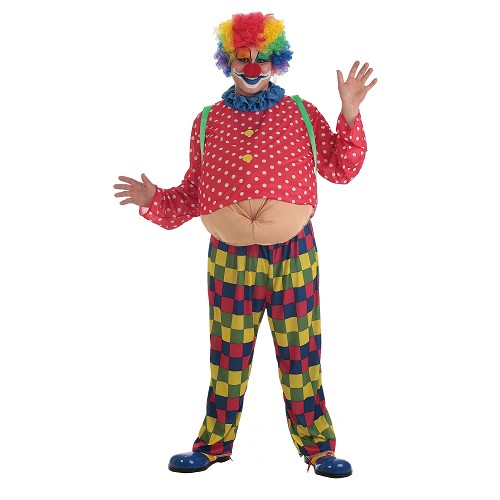 Costume adulte clown Spotty