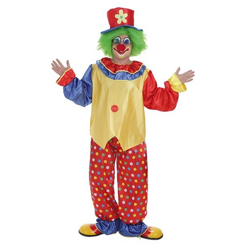 Costume adulte clown Pepon
