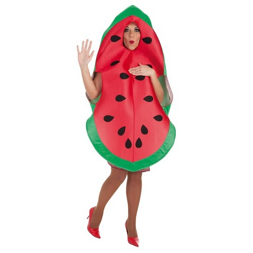 Costume adulte pastèque