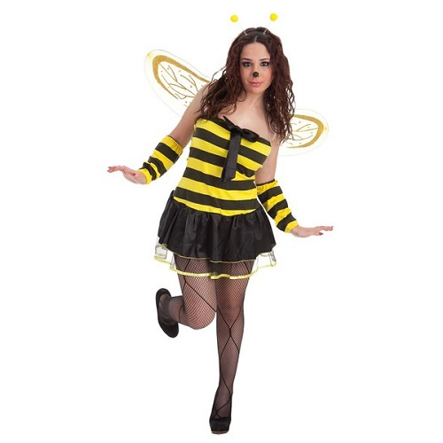 Cravate d'abeille adulte costume