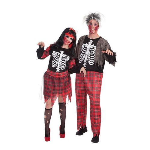 Costume adulte Zombie school girl