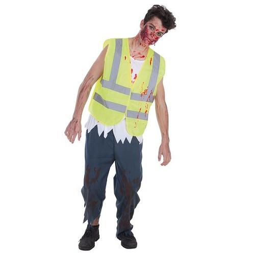 Costume adulte de Zombie driver