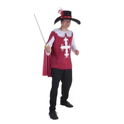 Costume adulte de mousquetaire Toledo