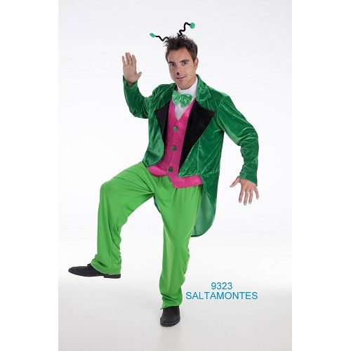 Costume adulte sauterelle
