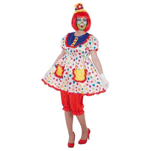 Costume adulte clown de Tina
