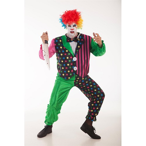 Bande de clown adulte costume