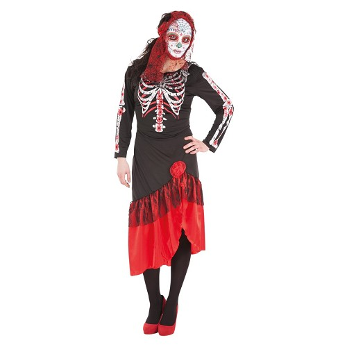 Catrina robe costume adulte