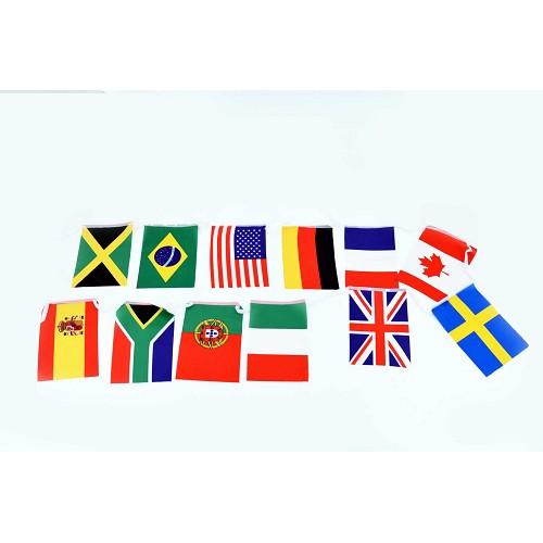Bannière tissu mondial