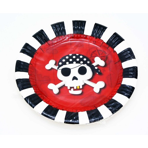 Plats pirate 20 cm