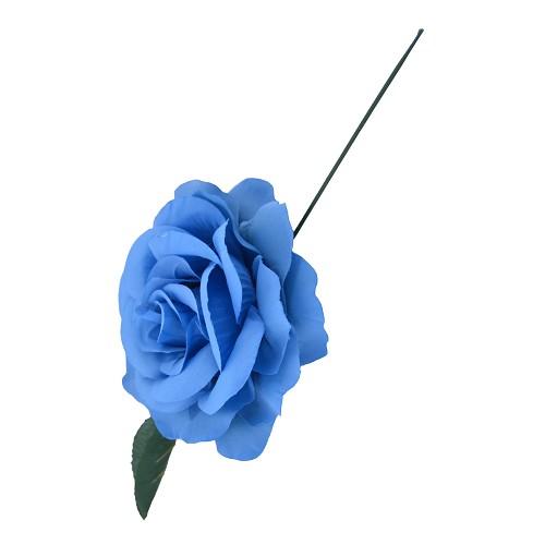 Rose bleu 15 cm