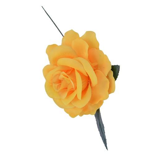 Rose jaune 15 cm