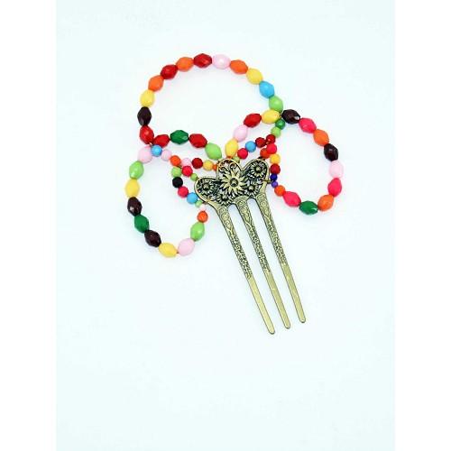 Peigne moyen Multicolor 17 cm