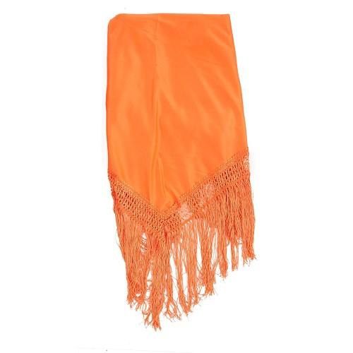 Châle Orange lisse
