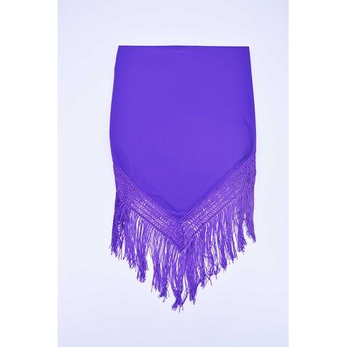 Lisse de châle violet