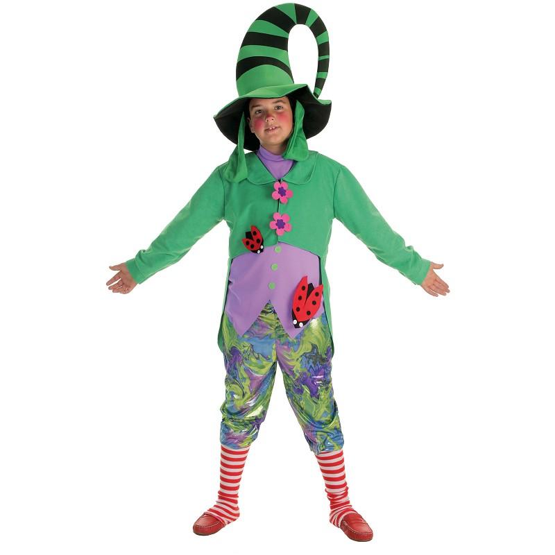 Costume enfant lutin vert