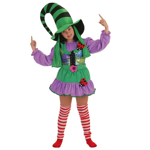 Costume enfant Duendecilla Green
