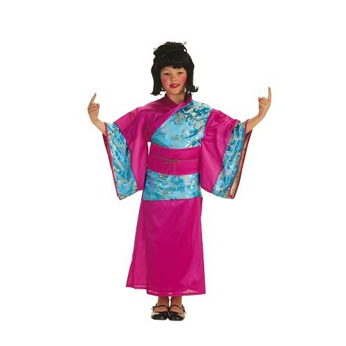 Costume enfant Geisha Inka