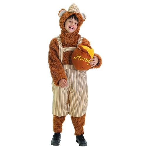 Costume pour bébé ours en peluche de fils