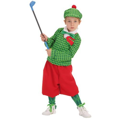 Joueur de Costume enfant Golf