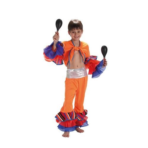 Rayure costume enfant cubain