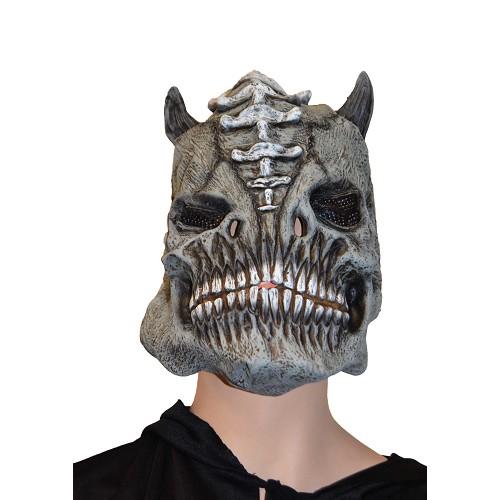 Gris masque c / cornes