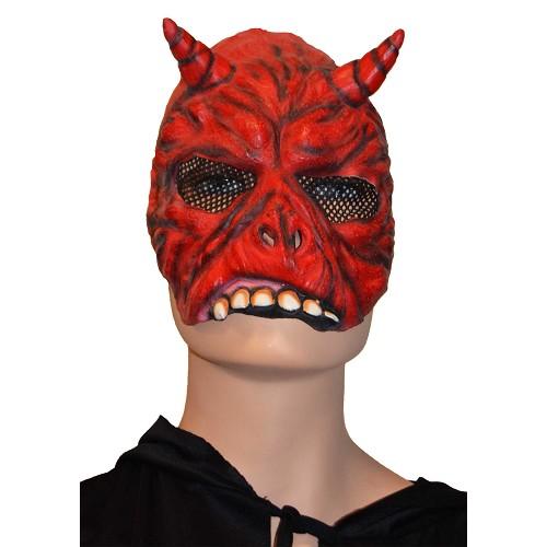H0114 masque de démon médias