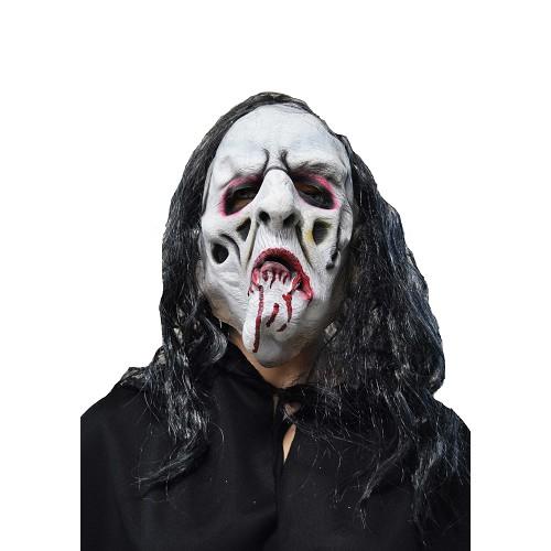 masque blanc H0123 de sang