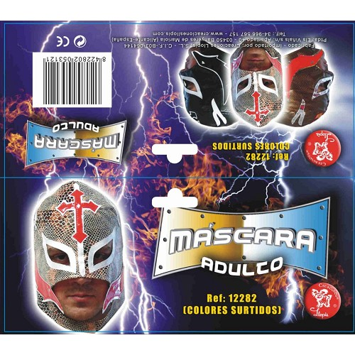 Mascara Serpent Wrestler 8422802122827