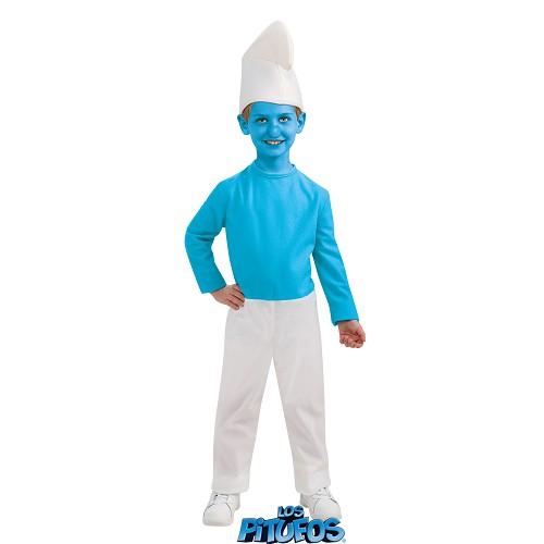 Enfants costume Smurf
